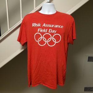 Risk Assurance Field Day Large Vintage T-Shirt